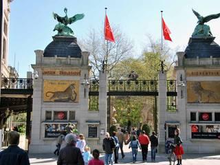 Der Zoo im belgischen Antwerpen