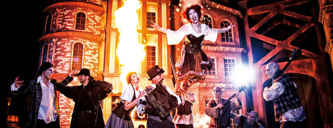 Show Van Helsing © Movie Park Germany