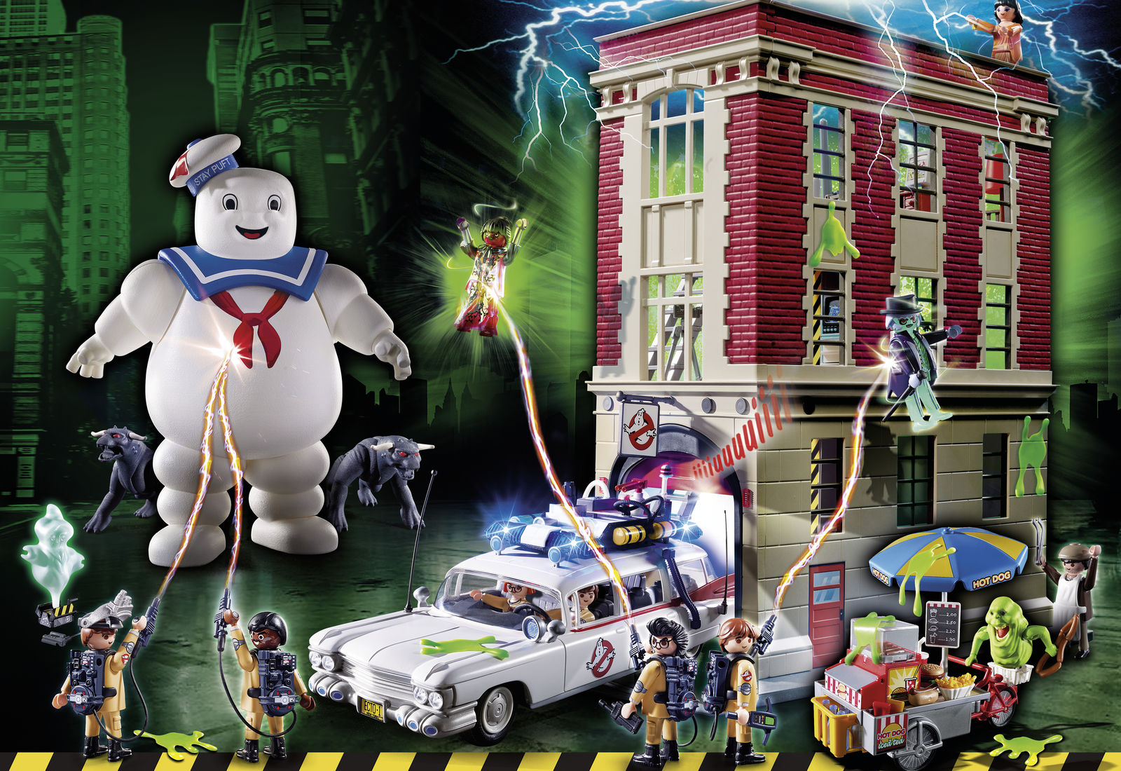 ghostbusters von playmobil. Black Bedroom Furniture Sets. Home Design Ideas