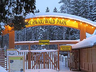Eingangsbereich © Schwarzwaldpark Löffingen