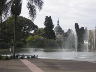Der Buenos Aires Zoo in der Hauptstadt von Argentinien © Rcidte