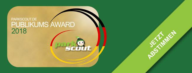 Parkscout Publikums Award