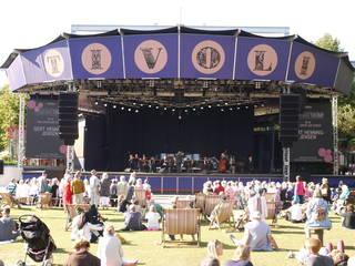 Orchestrales Konzert auf der Tivoli-Bühne