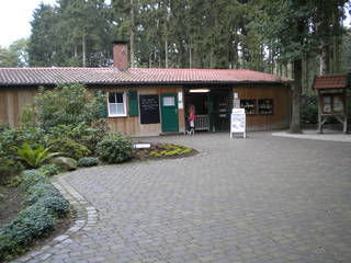 Der Eingang des Wildparks Frankenhof © Wildpark Frankenhof