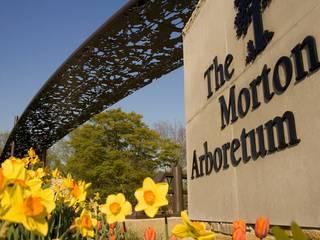 Eingang des Morton Arboretum © willowbrookhotels